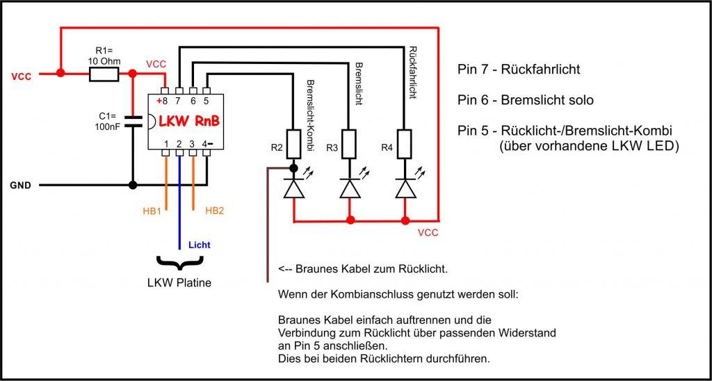 Ausgezeichnet Wie Man Lichter Parallel Zum Schaltplan Verdrahtet ...